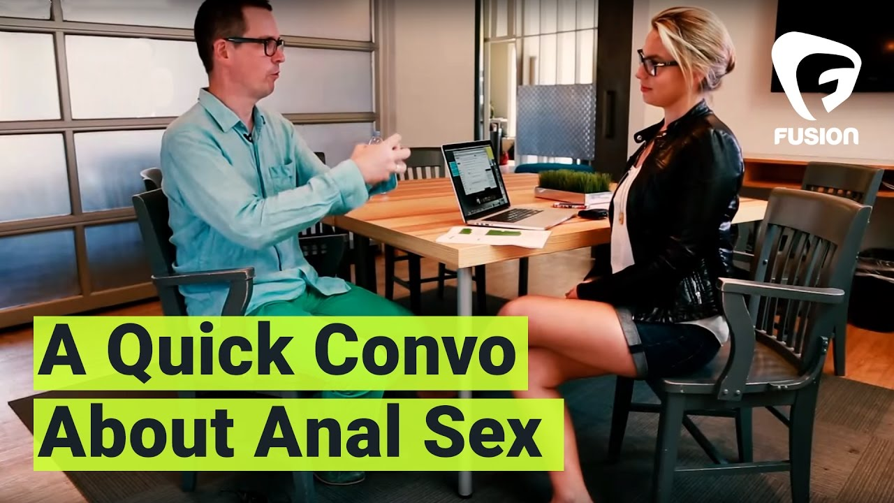 Interview with women about anal sex
