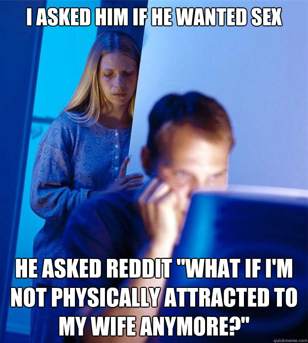 Not attracted to my wife anymore