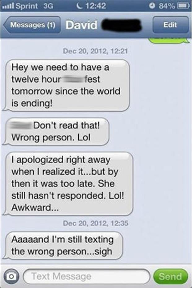 Sexting examples woman to man
