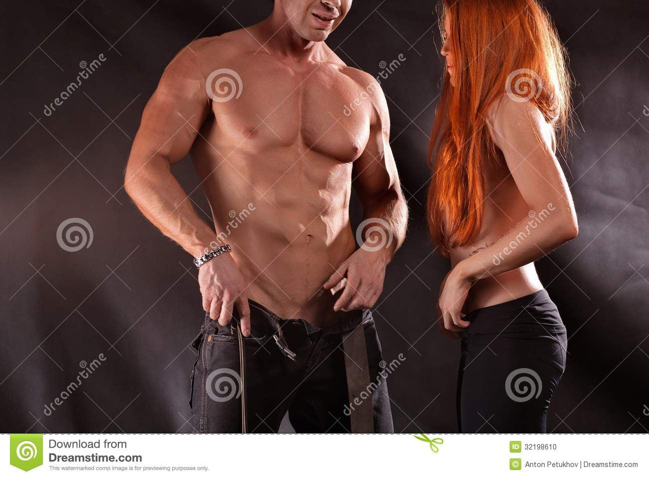 Sexy images of male and female
