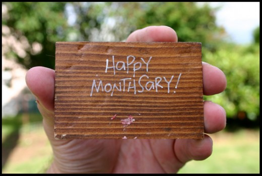 What is monthsary in a relationship